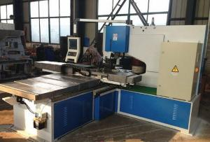 China Control hidráulico del trabajador del hierro de la punzonadora del CNC del acero del perfil on sale
