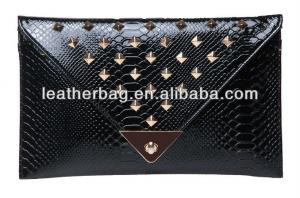 China Crocodile leather lady bag of wholesale clutches(AX-051) on sale