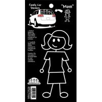 Family Car Decal -- Mom