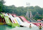 Customized Colors Size Big Water Slides Raft Vehicle For Amusement Park