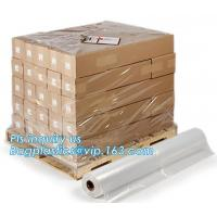 Outdoor pallet wrap wholesalers greenhouse coverings clear plastic hood protector, moisture proof reusable virgin plasti