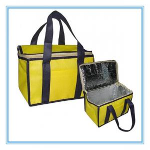 China Eco-Friendly Insulated Cooler Bags Colored Non Woven 2mm Aluminum EPE on sale