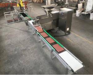 China Small CapacityPet Food Extrusion Equipment PLC And Touch Screen Controlled on sale