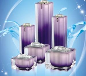 China square acrylic cream jar on sale