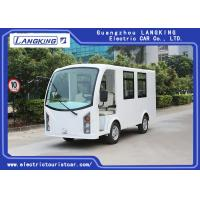 Low Speed 48V 5KW Electric ambulance car /Mini Electric Sightseeing Car / 4+1 bed Seats Electric Shuttle Bus