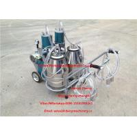 Automatic Milking Piston Cow Mobile Milking Machine For Two Cows Milking