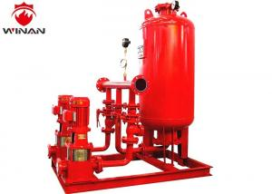 China Firefighting Pressure Fire Water Booster Pump Tank Systems With Electric Contact on sale