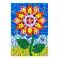 Educational DIY Sunflower Puzzle EVA Adhesive Cartoon Jewel Happy Game Toys