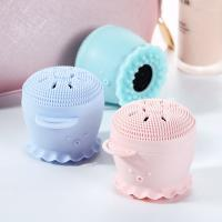 Anti Dirt Silicone Facial Cleansing Brush , Foundation Concealer Brush Eco Friendly