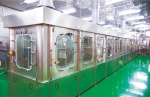 China Plastic Bottle KBM Aseptic Juice Filling Machine on sale