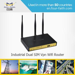 China 3g quad band Router dual sim wifi Router with external antenna & 4 LAN ports & RJ45 on sale