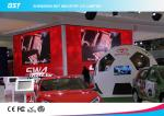 Custom Aluminum  P3.91 HD Black LEDs Indoor Advertising Led Display Screen for Auto Show