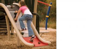 China sacurity inflatable dry slide on sale