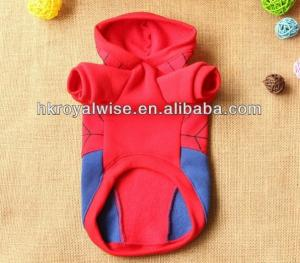 China Custom Dog Hoodies / Spider Pet Clothing XXS / XL Apparel For pomeranian on sale