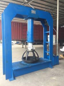 China 200 Ton TP200 Solid Tyre Pressing Machine Wear Resisting 2110X800X2430 mm on sale