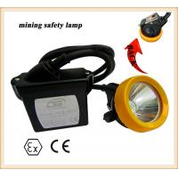 6.6Ah rechargeable led waterproof safety miners cap lamp for sale