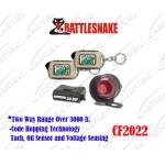 Manera 2 que pagina la alarma para coches con el regulador auto CF2022 de los sistemas de alarmas/2 telecontroles del LCD