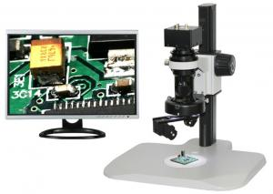 China 3.0 MP USB Industrial Camera 250x 300x 2D to 3D Video 3D Digital Microscopes / Microscope on sale