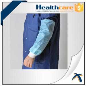 China HDPE Arm Length Waterproof Disposable Sleeve Covers For Food Processing / Hospital on sale