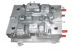 China Polishing And Grain Surface Hot Runner Injection Molding Single Cavity For Valeo on sale