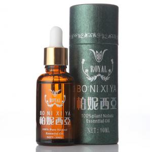 China Matt Lamination Round Cardboard Gift Box Perfume Packaging Round Box on sale