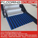 De PVC S de maille de plancher de tapis de PVC Z de Web de tapis glissement non pour l'entrée et les secteurs humides