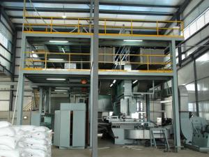 China PP Spunbonded Non Woven Fabric Making Machine on sale