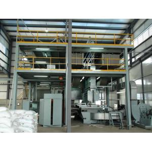 China PP Spunbonded Non Woven Fabric Making Machine , 1600mm / 2400mm / 3200mm on sale