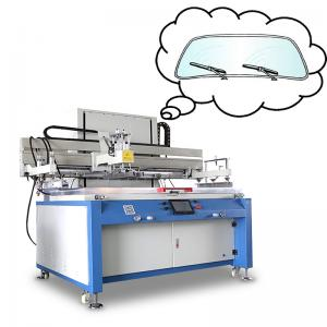 China Flatbed Type Semi Automatic Silk Screen Printing Machine With Infinite Speed on sale