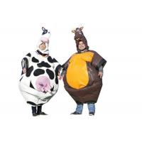 Entertainment Cute Inflatable Outdoor Toys Bull Cow Suit Blow Up Cow Costume