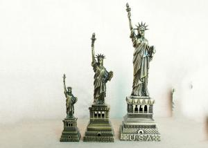 China Collectible World Famous Building Model , USA Statue Of Liberty Replica on sale