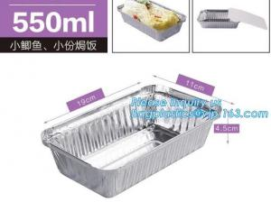 China Disposable Square Aluminum Foil Bakery Cupcake Container/Bowl /Cup For Food Microwave Heating,bagese bagplastics package on sale