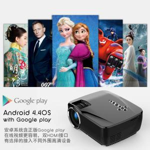 Quality simplebeamer GP70UP Micro Wireless Projector 1200 lumens with Android 4.44 OS for sale