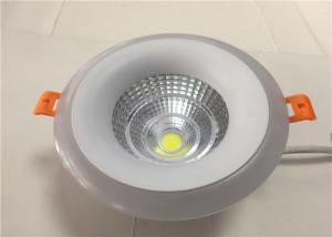China Super Bright COB Led Downlight Camber Round Double Color For Home Decoration on sale