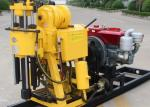 Hydraulic 200m Soil Testing Drill Rig Machine / Geological Drilling Machine
