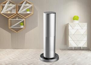 China Desktop Home Electric Air Freshener Dispenser In Silver / Black Aluminum Alloy Material on sale