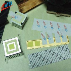 China 2.2g/Cc PCM Phase Change Material Pad Power Semiconductors Laptop Cooling on sale