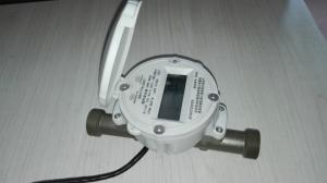China DN15mm - 25mm Digital Brass Ultrasonic Flow Meter With AMR System Anti Interference on sale