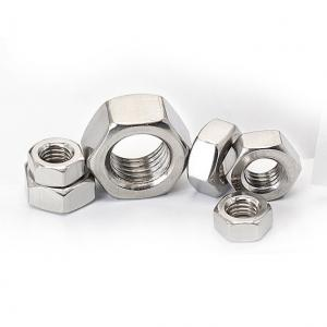 China DIN/ASTM/UNC Stainless Steel Hex Nuts Fastener High Strength Polishing 1/2 on sale