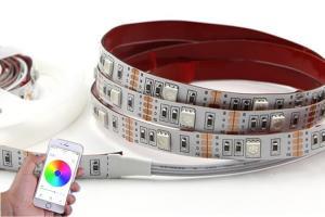 China Aquarium Light App Control Bluetooth LED Strip Colorful For Amusement Park supplier
