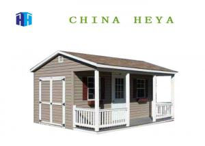 China 112 Sqm Modern Prefabricated Houses Custom Manufactured Homes With Bathroom on sale