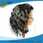 Pelucas afroamericanas del cabello humano, pelucas de cordón llenas de la onda del cuerpo con el pelo del bebé