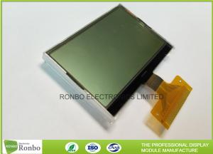 China 128 * 64 Transflective Graphic COG LCD Module Custom Made With White LED Backlight on sale