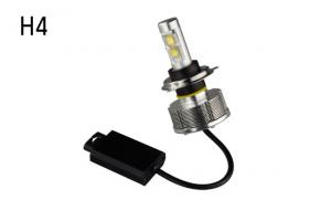 China 2014 new arrival H4 high LED car headlight conversion kit, HID xneon kit 20W 2400LM No fan on sale