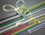 High Load PA66 Material Nylon Zip Ties Self-Locking Type UV Stabilized