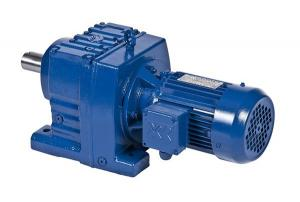 China R series helical speed reducers 0.05rpm - 809rpm for electric motors on sale