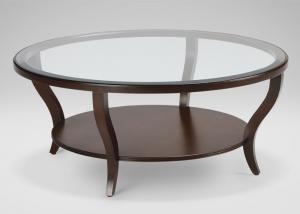 Oem Hotel Coffee Table Modern Round Coffee Table With Glass