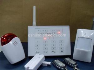 China LED Touch Keypad Wireless Intelligent GSM Alarm System on sale