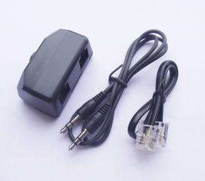 China RJ 11 Telephone Phone Line Recorder Adapter  on sale