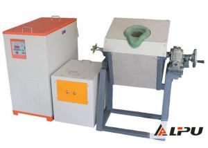 China Safety Ore Dressing Plant Medium Frequency Induction Melting Furnace on sale